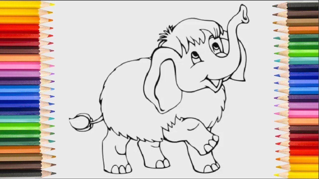 1280x720 Simple Drawing For Kids