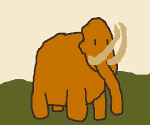 300x250 Wooly Mammoth