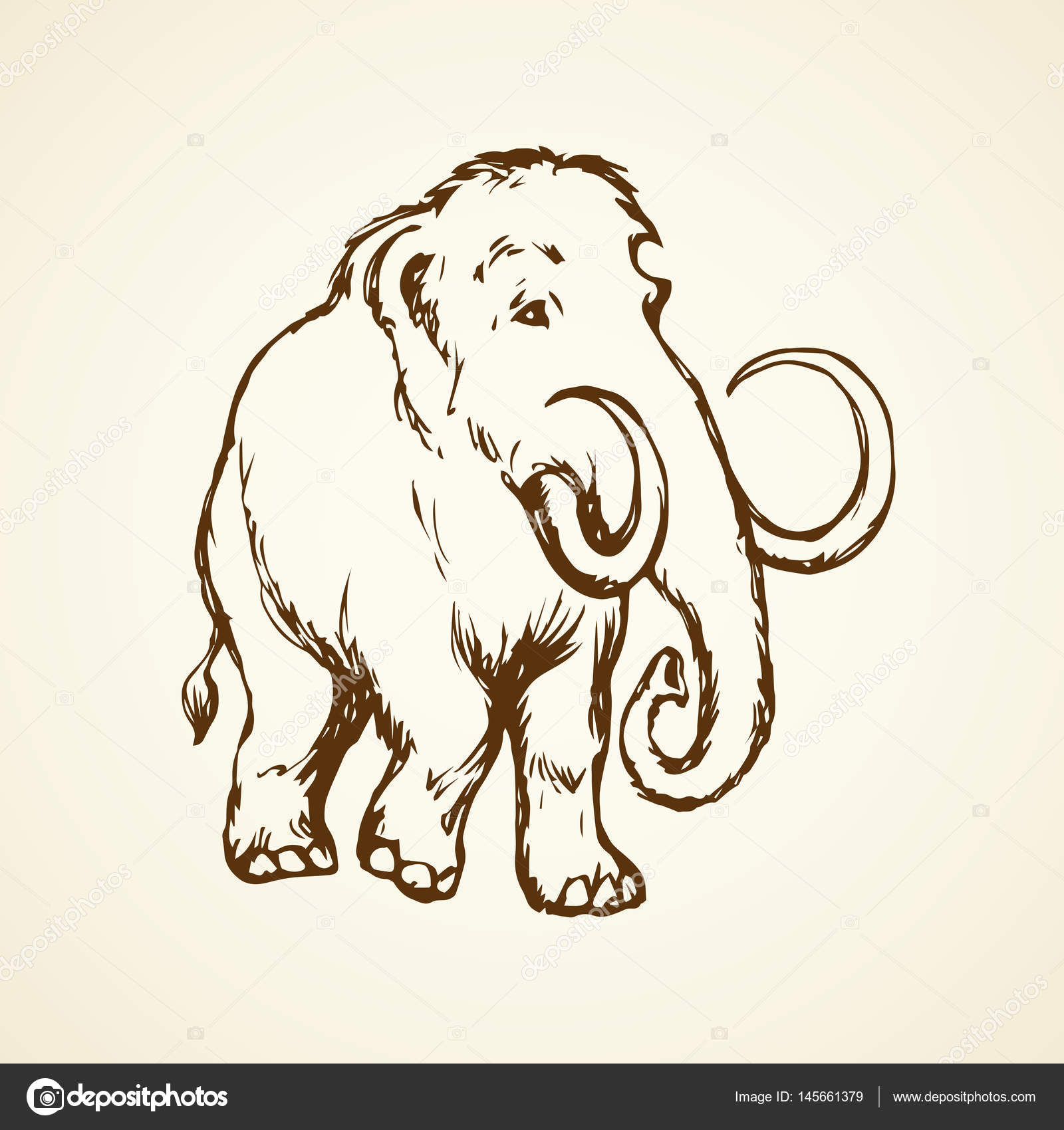 1600x1700 Wooly Mammoth Stock Vectors, Royalty Free Wooly Mammoth