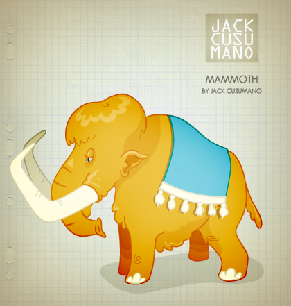 420x441 Wooly Mammoth Jack Cusumano