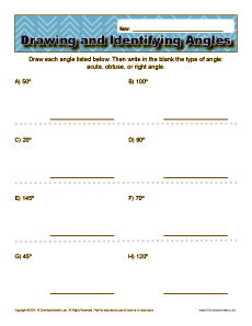 230x298 Drawing And Identifying Angles 4th Grade Geometry Worksheets