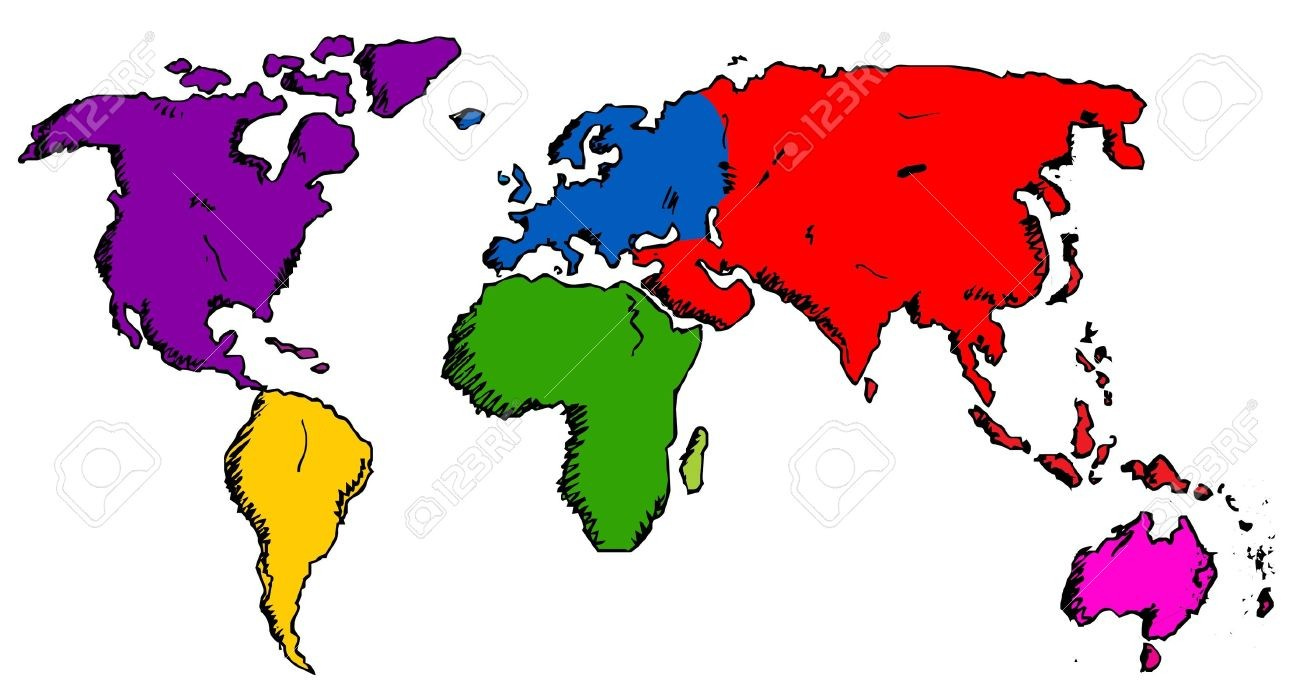 World drawing map at getdrawings free for personal use world 1300x700 drawing a world map fresh hand drawn world map royalty free gumiabroncs Image collections
