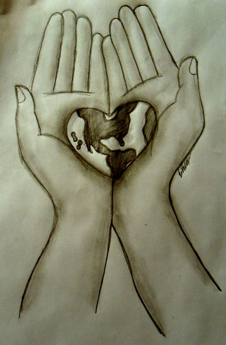 723x1103 Hands Holding World By Tinkerbell229 Art Land