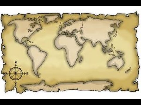 480x360 How To Draw A World Map