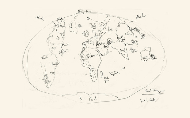 World Map Drawing at GetDrawings.com | Free for personal use World ...