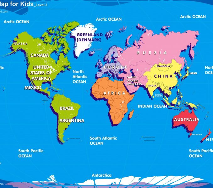 World map drawing for kids at getdrawings free for personal 678x600 map of the world for kids printable kids coloring gumiabroncs Image collections
