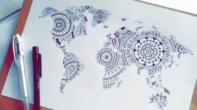 World map drawing tumblr at getdrawings free for personal use 640x360 drawing on map tumblr gumiabroncs Images