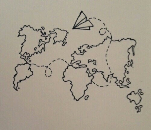 World map drawing tumblr at getdrawings free for personal use 500x430 gold world map tumblr gumiabroncs Gallery
