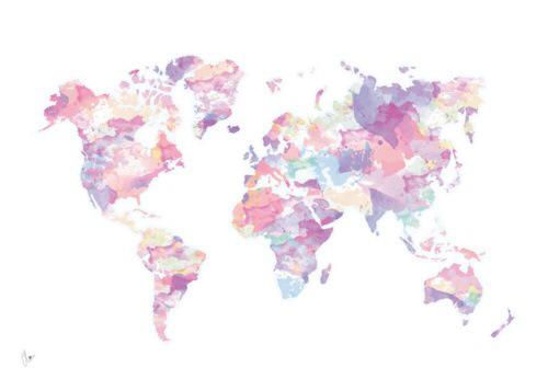 World map drawing tumblr at getdrawings free for personal use 500x357 world map colorful gumiabroncs Choice Image