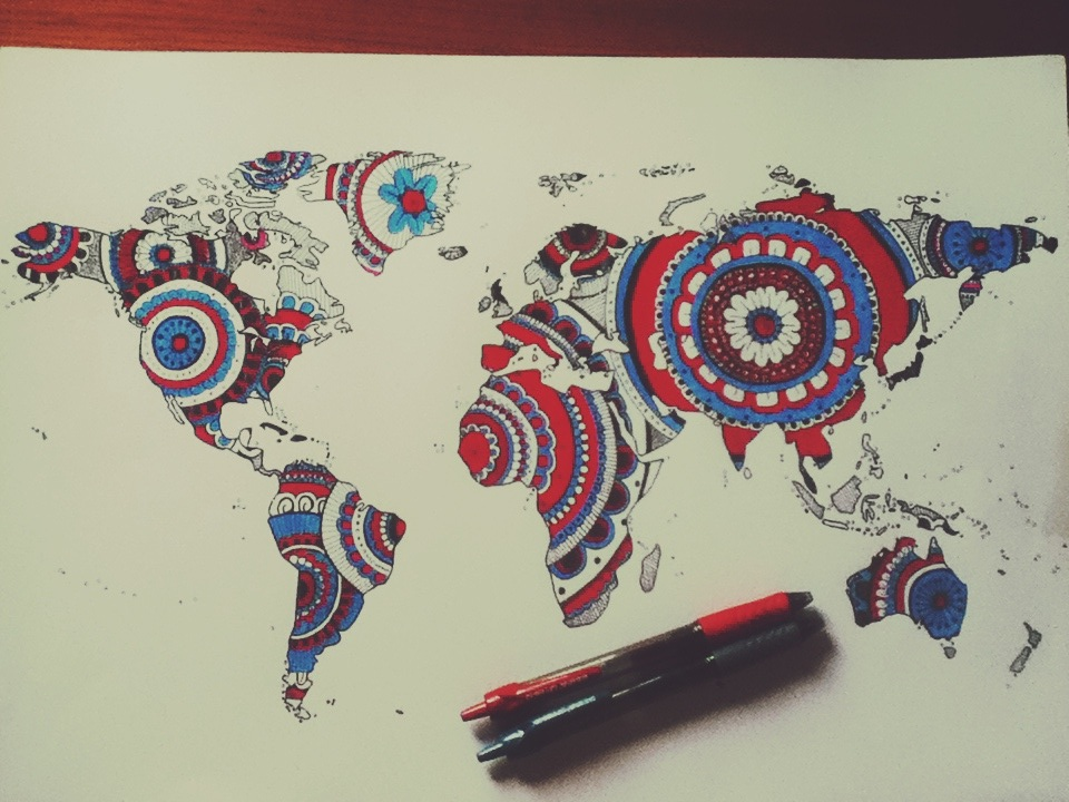 World map drawing tumblr at getdrawings free for personal use 960x720 world map drawing tumblr gumiabroncs Choice Image