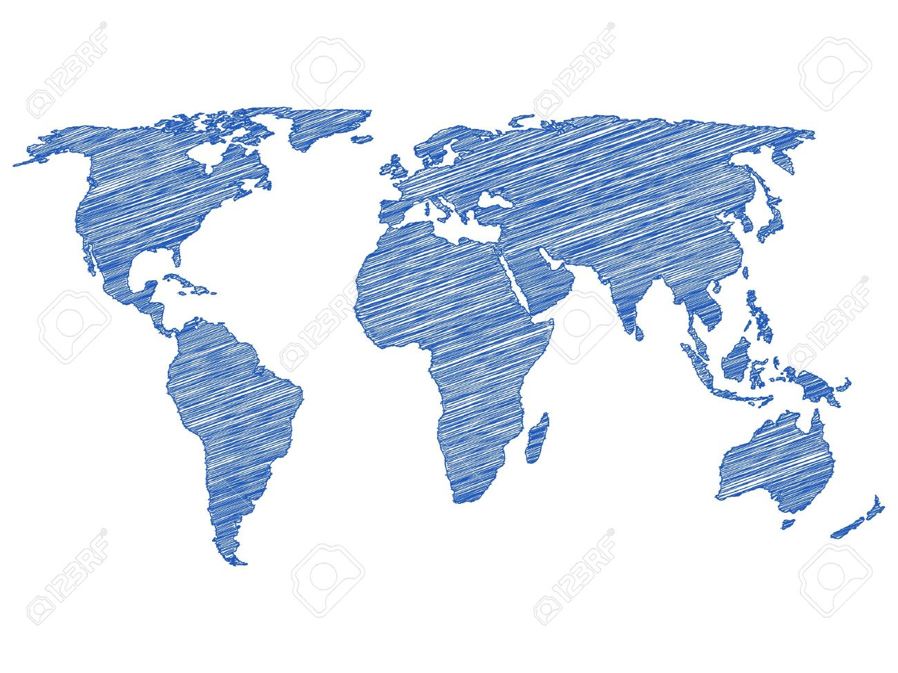 World map for drawing at getdrawings free for personal use 1300x975 drawing world map on a white background vector illustration gumiabroncs Image collections