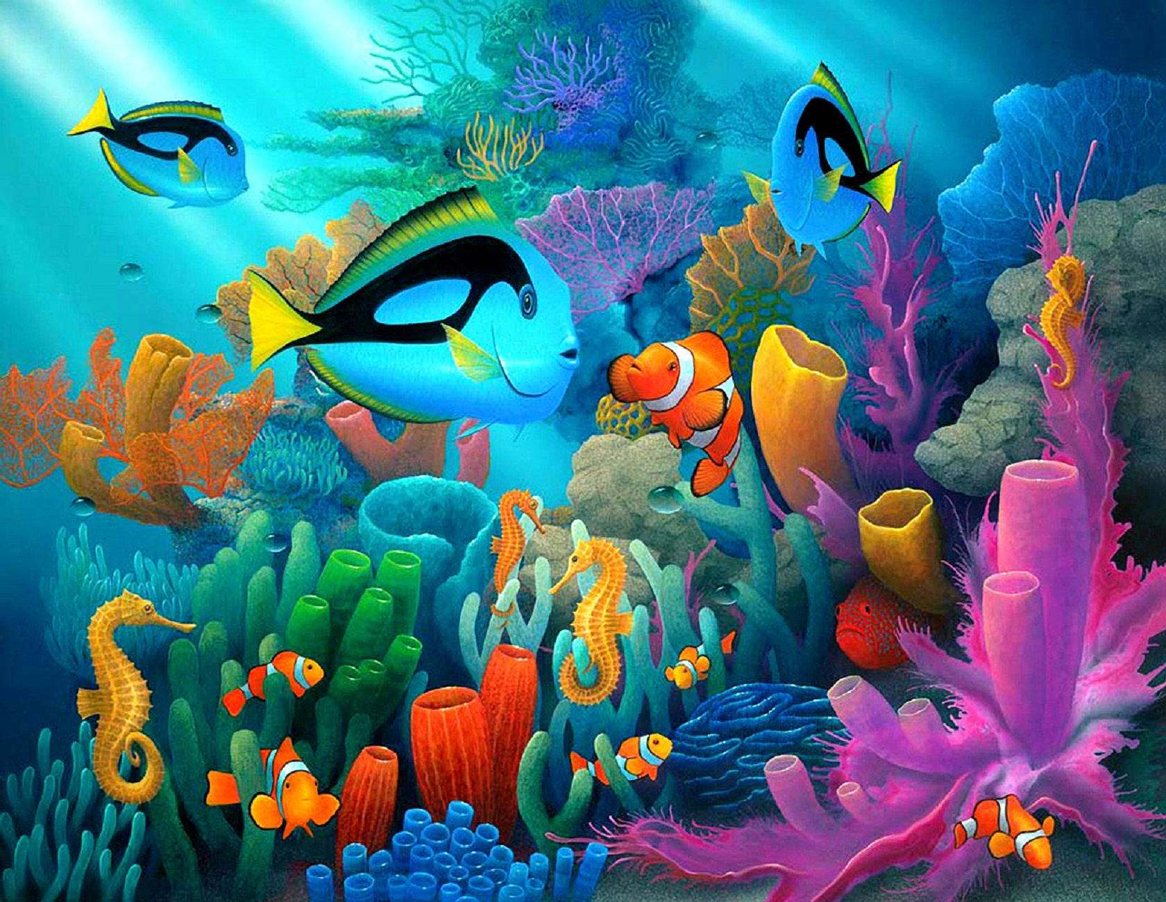1680x1300 Underwater World Wallpapers HD Pictures u20acu201c