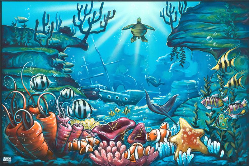 Mermaid Bedroom Art