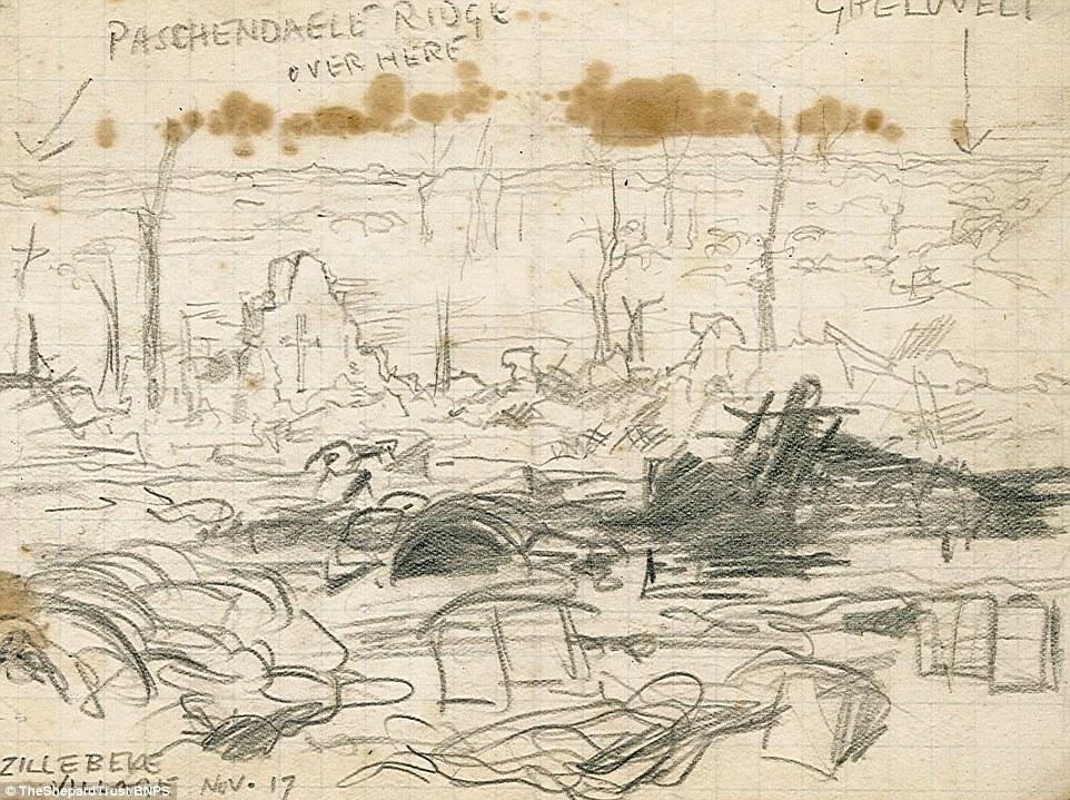 962x719 Illustrated Courtroom Pooh Illustrator Eh Shepard World War 1