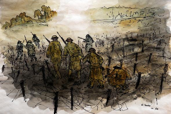 590x392 World War 2 Art