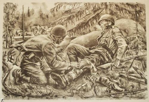 500x343 Finnish Soldier Drawing De Ideas En Movimiento Para