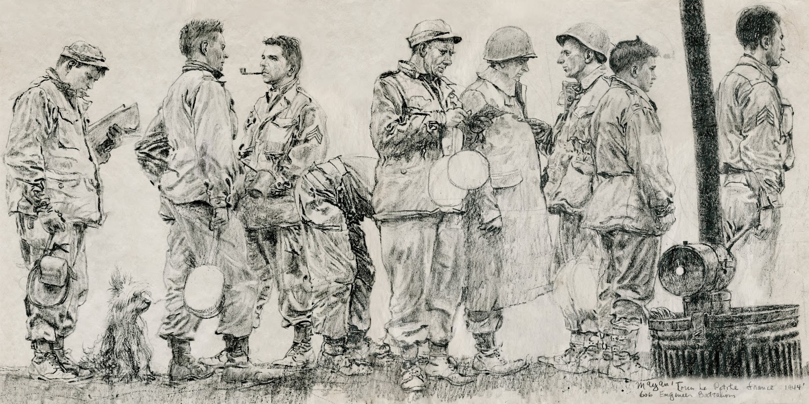 1600x800 Gurney Journey Earl Mayan's World War Ii Drawings