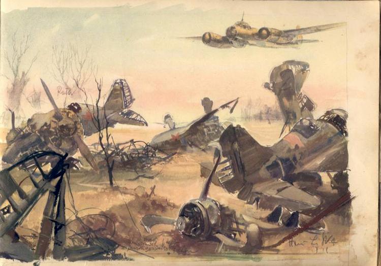 750x524 World War Ii Sketches By Hans Liska