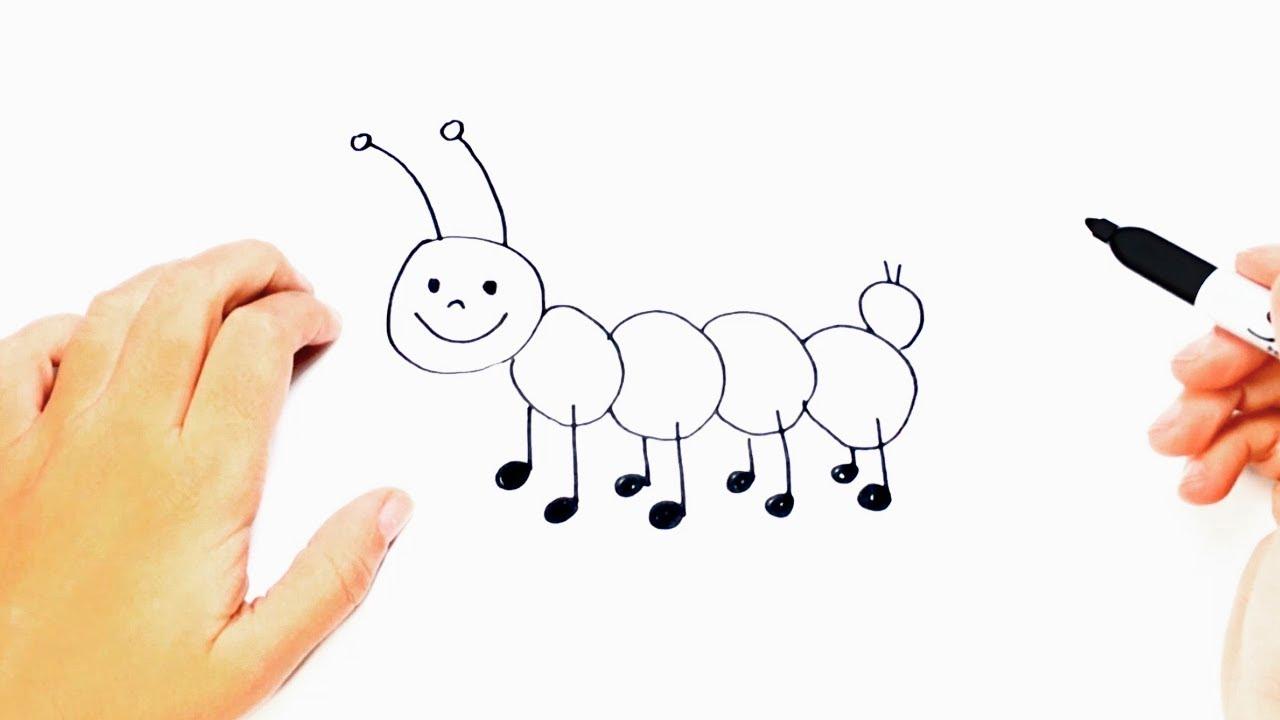 1280x720 How To Draw A Worm Worm Easy Draw Tutorial