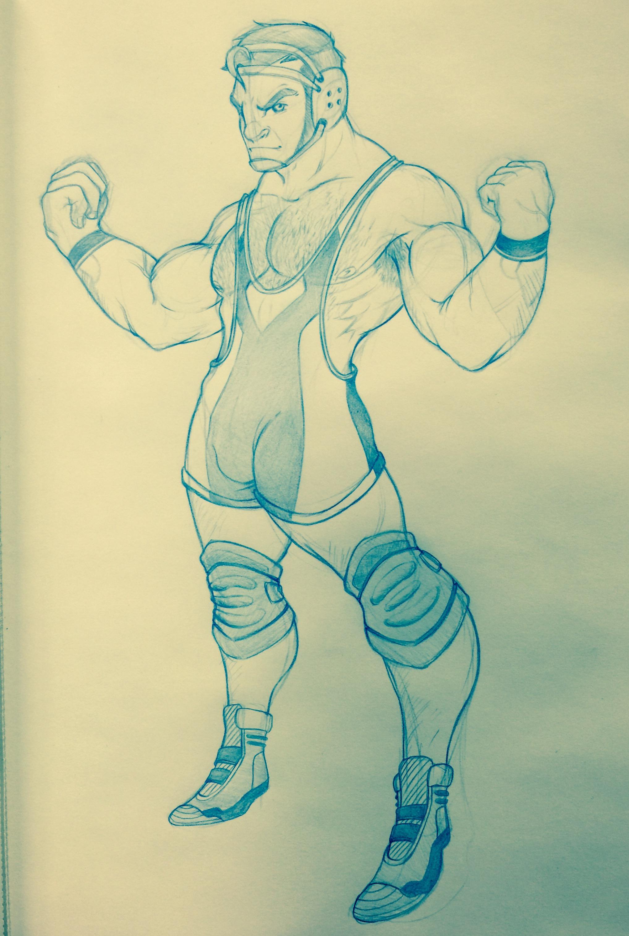 2035x3026 Random Wrestler