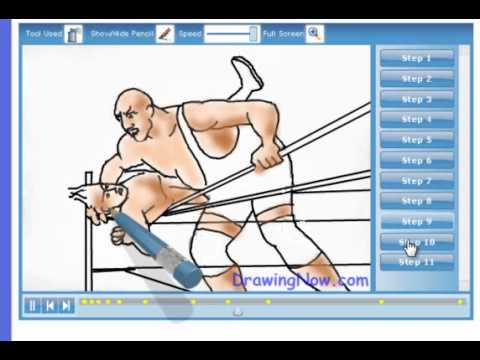 480x360 How To Draw Wwe Wrestlers