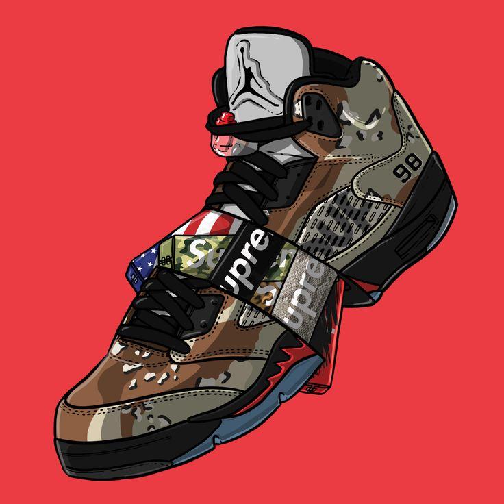736x736 33 Best Sneaker Art Images On Sneaker Art, Hypebeast