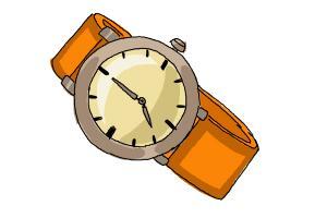 300x200 How To Draw Wristwatch Step By Step