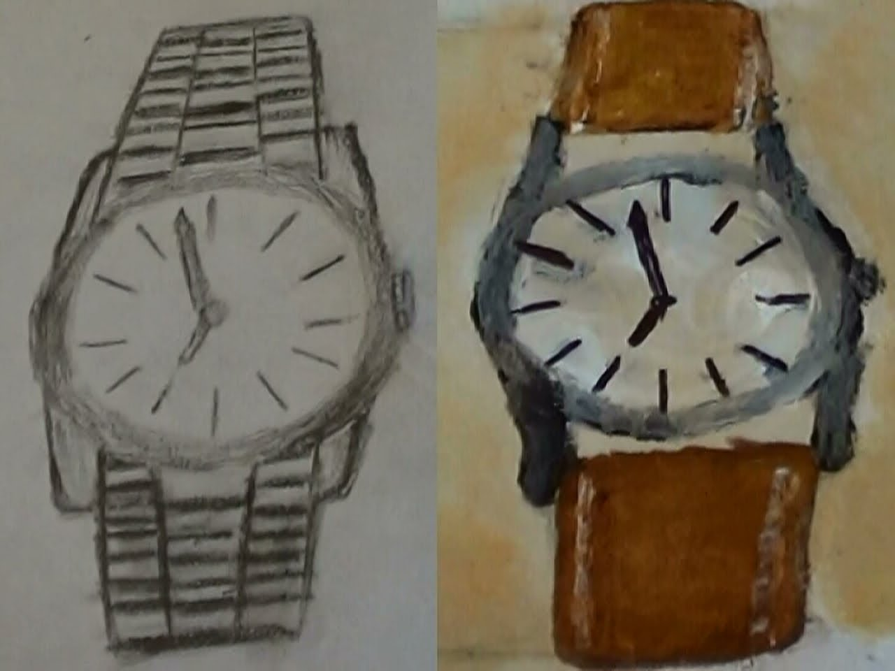 1280x960 How To Draw A Wristwatch