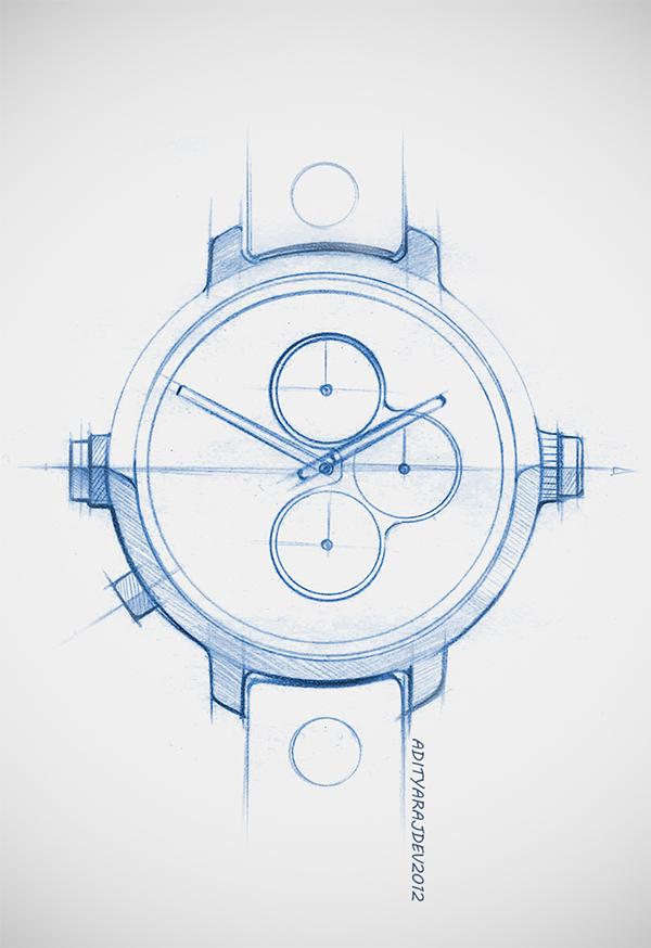 600x874 Wrist Watch Doodles Amp Renders On Behance Draw