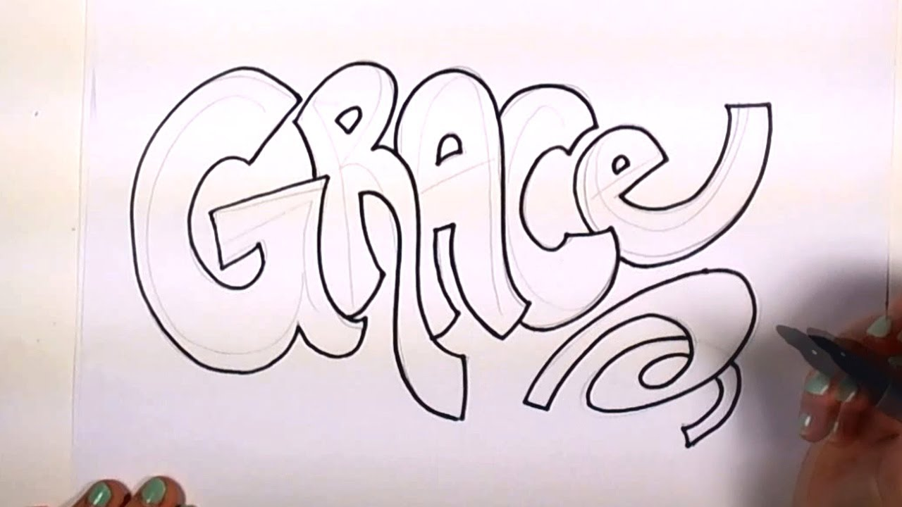 1280x720 How To Draw Your Name Cool Letters