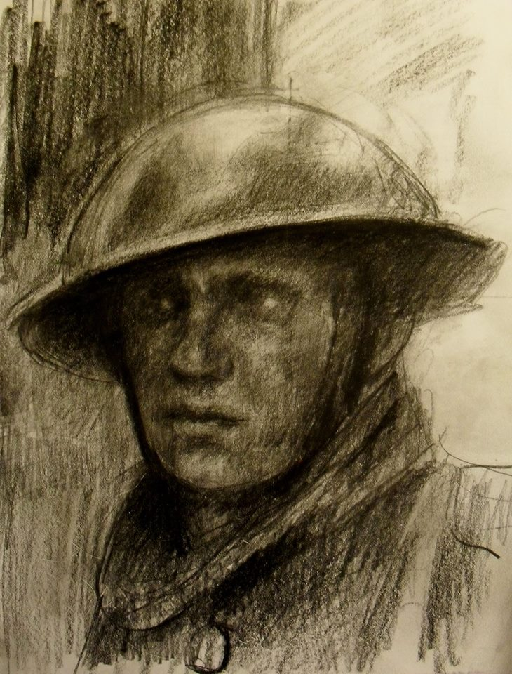 730x960 Wwi British Soldier (Tommy) Marc Nelson