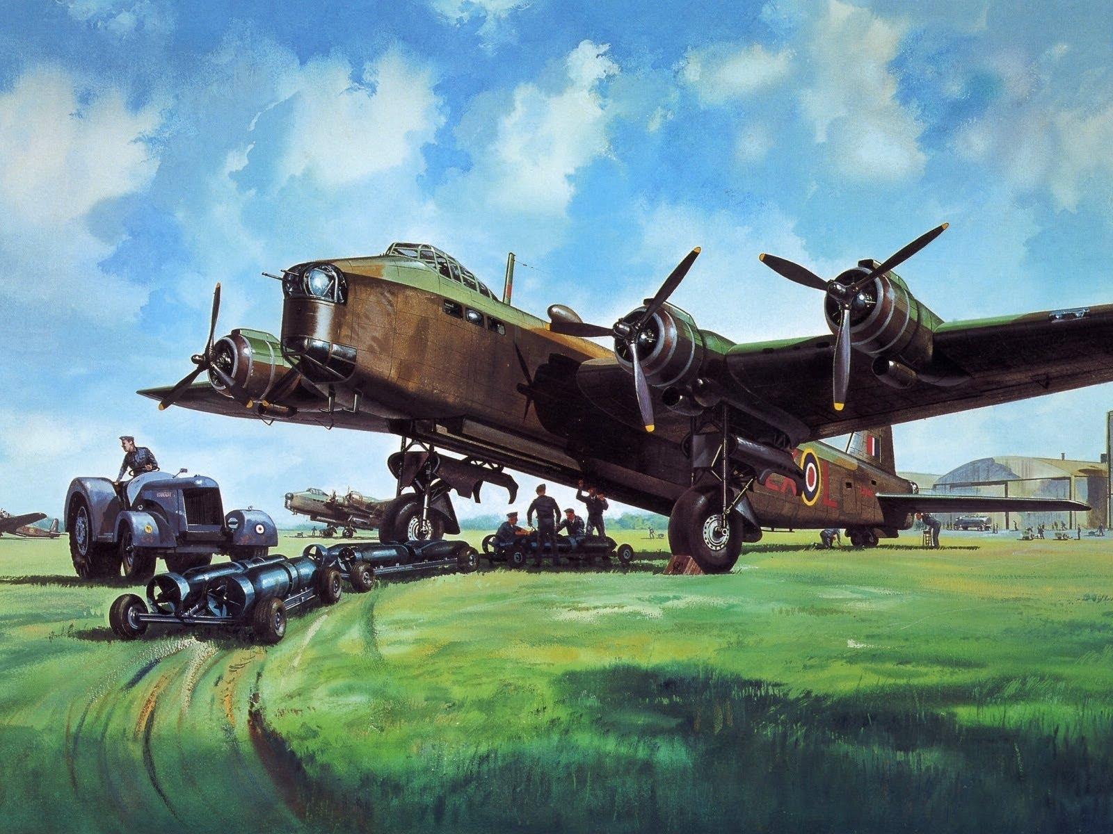 1600x1200 Ww2 Aircraft Art. Paintingsdrawings