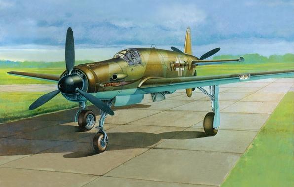 596x380 Wallpaper Do 335, A Heavy German Fighter Of World War Ii, Arrow