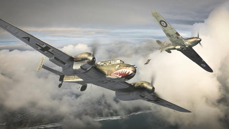 800x450 Clouds Aircraft Bomber World War Ii Drawings Aviation Wallpaper