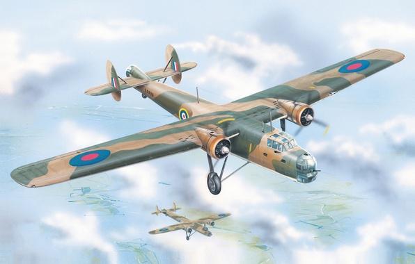 596x380 Wallpaper Aviation Art, Ww2, Painting, Airplane, Art, British