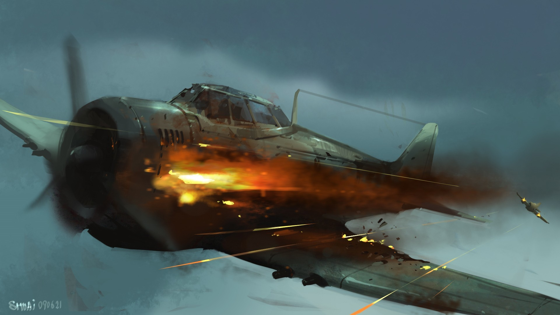 1920x1080 Wwii Fighter Planes Wallpapers 1920x1080 Images)