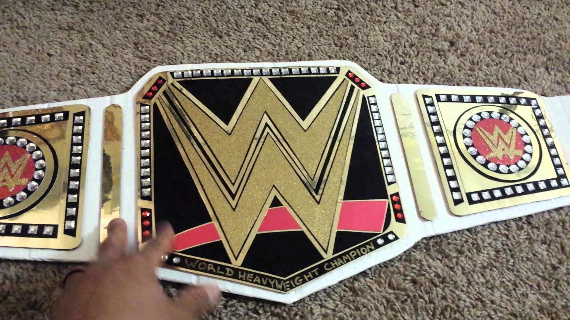 1920x1080 TUTORIAL HOW TO MAKE THE WWE WORLD HEAVYWEIGHT CHAMPIONSHIP