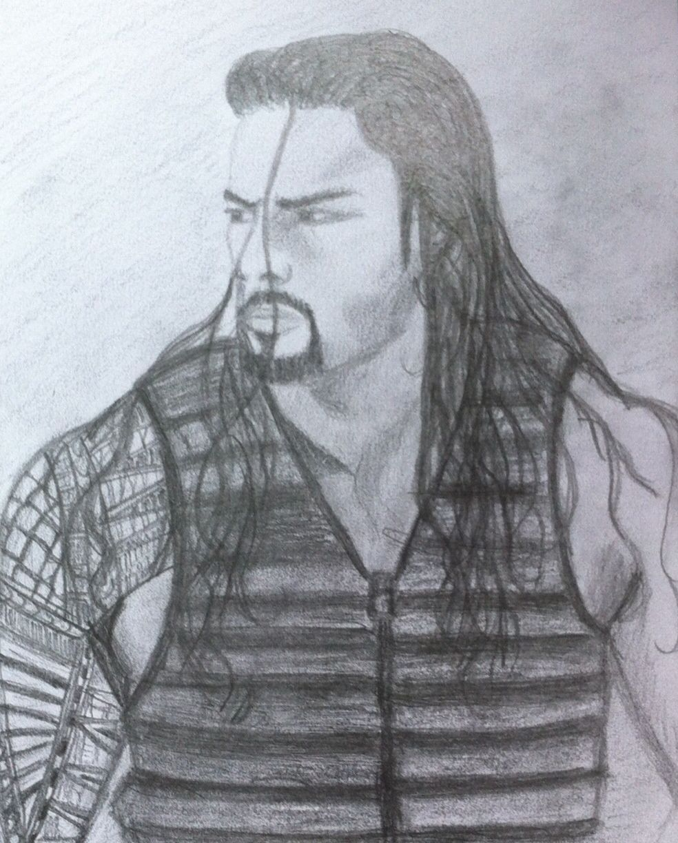 984x1224 My Drawing Of The Gorgeous Roman, Not Perfect But My Best Attempt