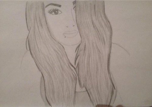 500x354 Paige (Wwe) Images Old Drawing I Found. Wallpaper And Background