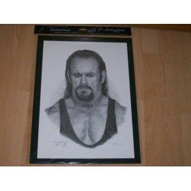 280x280 Undertaker Wwe Picture (Original Pencil Drawings) Amazon.co.uk