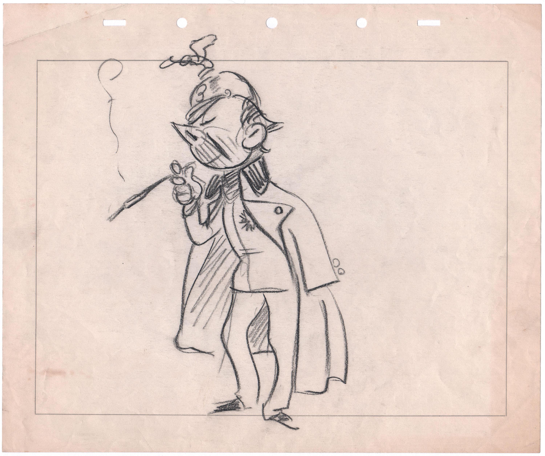 3000x2509 Disney Wwii 1940's Propaganda Gagcharacter Drawing Bodrerogrant