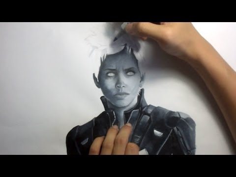 480x360 Drawing Storm X Men Days Of Future Past