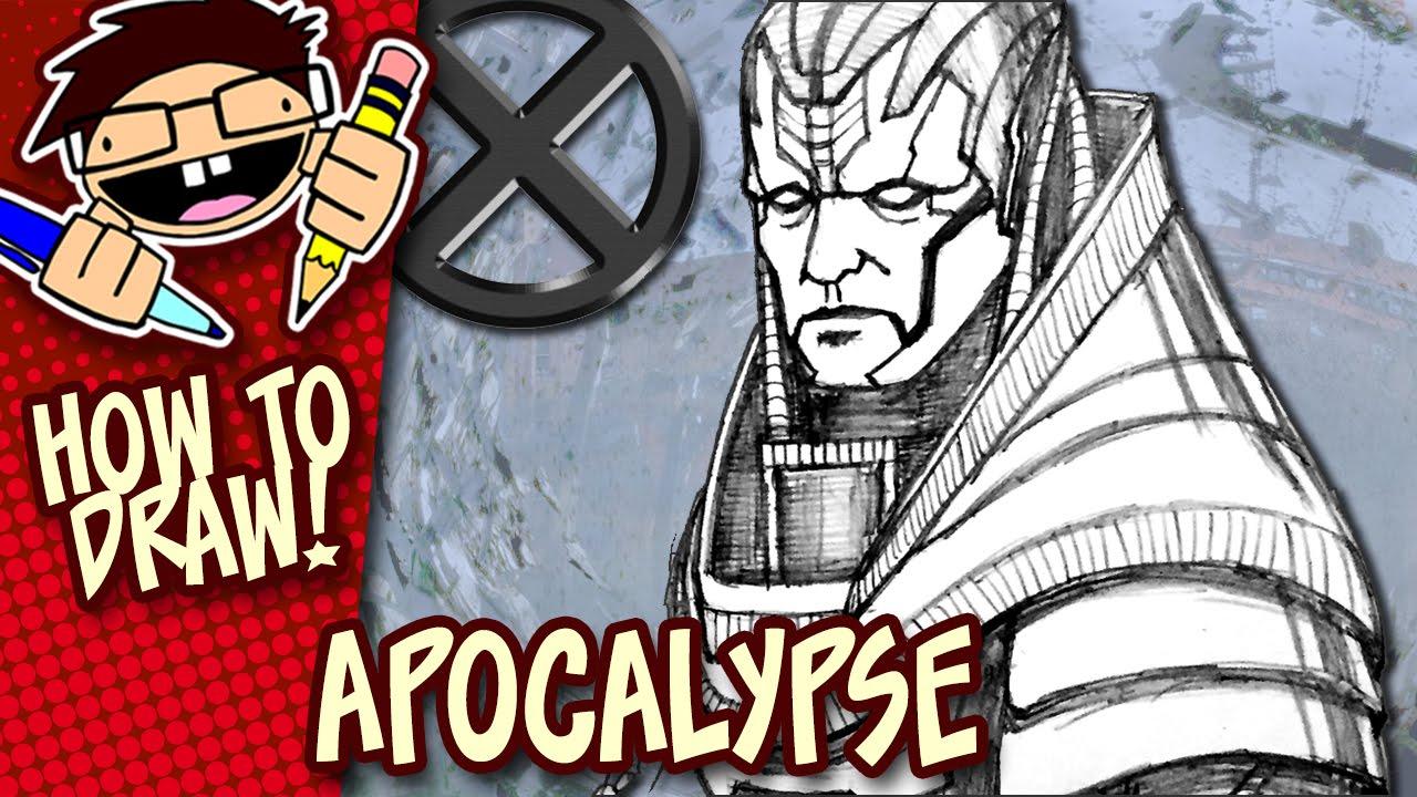 1280x720 How To Draw Apocalypse (X Men Apocalypse) Step By Step Drawing