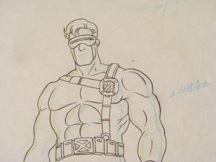 750x562 Original Drawing Cyclops X Men Animation Intimidator