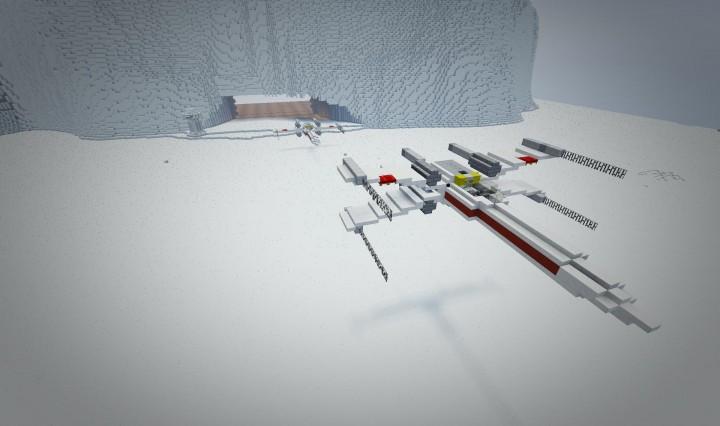 720x426 T 65 X Wing Starfighter Star Wars X Wing Minecraft Project