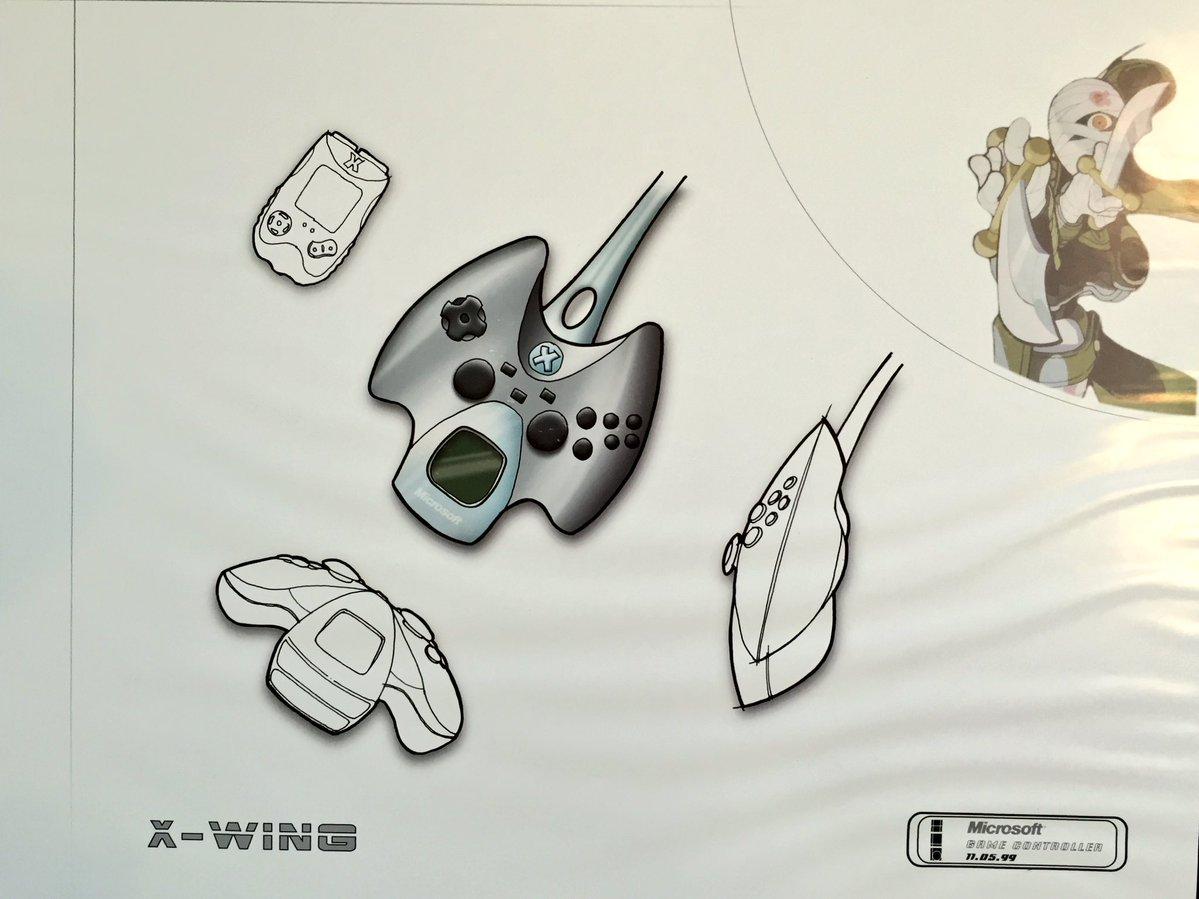 1199x899 Xbox Inventor Shows Original Xbox Controller Designs Was
