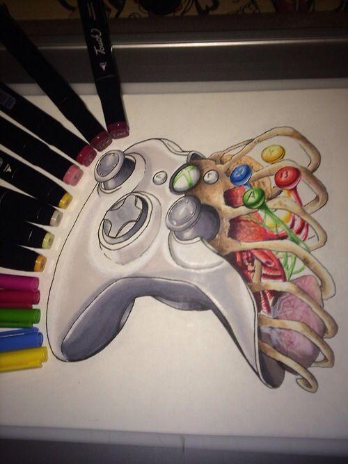 500x667 Xbox Controller Quotestattoo Ideas Xbox
