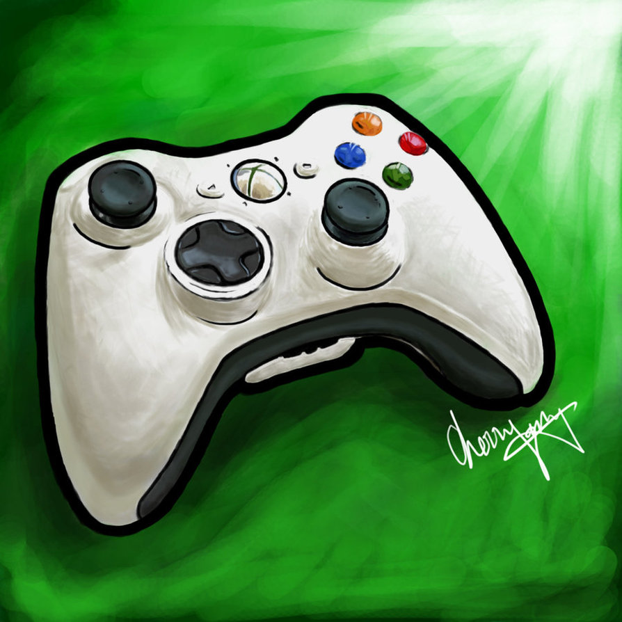 894x894 Xbox Controller Drawing Christmas Made Gifts Xbox