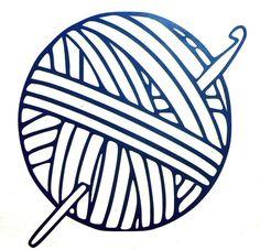 236x227 Crochet Hook And Yarn Ball Tattoo Idea Ink Yarn
