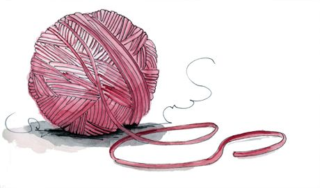 460x271 Spinning You A Yarn Long Blue Straw Illustrations